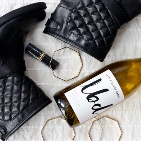 Little black dress - high end wine Marketing