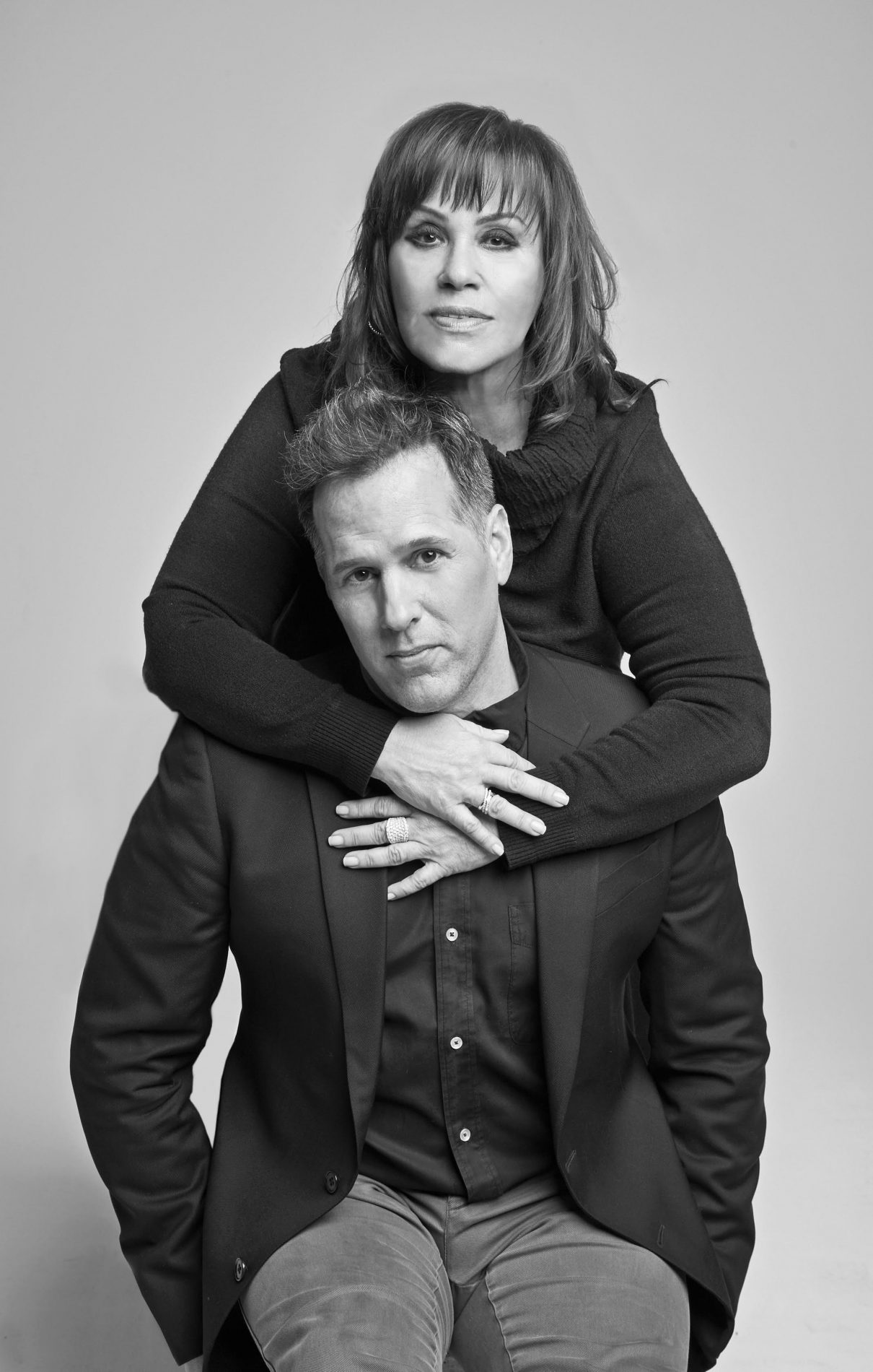Orit and Daymon - The O Group partners - Luxury Branding and Creative Agency New York City